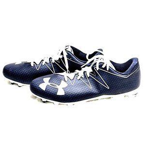 UNDER ARMOUR BLUE NITRO LOW MC FOOTBALL CLEAT 12.5